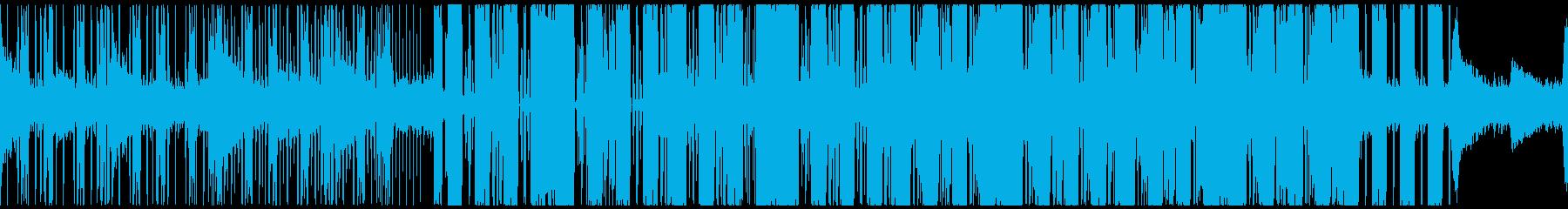 幻想的ダブステ・グリッチホップ・ループ◯の再生済みの波形