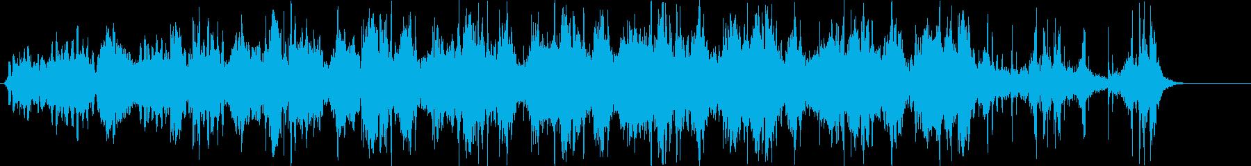幻想的で近未来的、洗練された宇宙的な音。の再生済みの波形