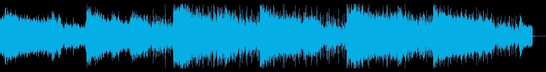 デジタルで不気味なインダストリアルの再生済みの波形