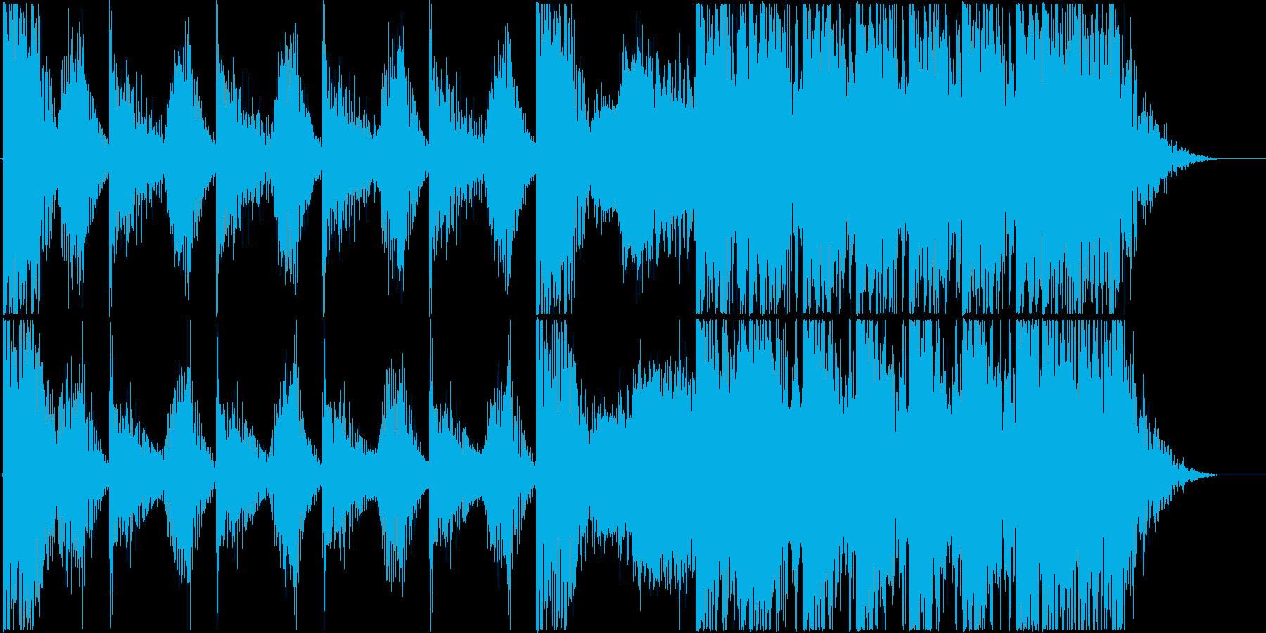 <シンプル~打楽器>予告編/トレーラーの再生済みの波形