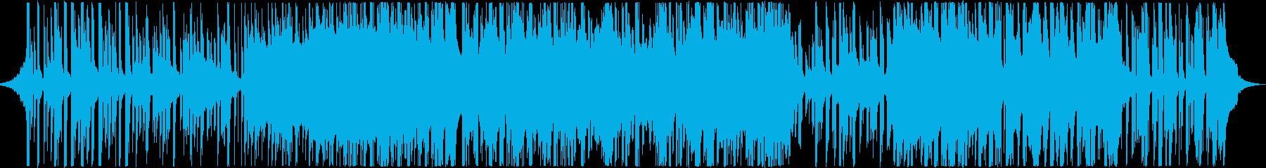 明るくキラキラ感のあるエレクトロポップの再生済みの波形