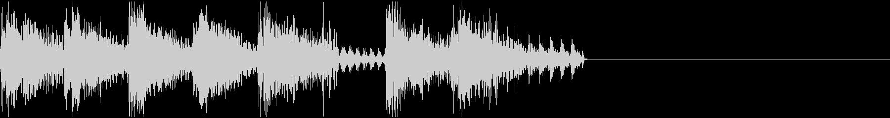 ファミコン・ゲーム風  ジングル1の未再生の波形