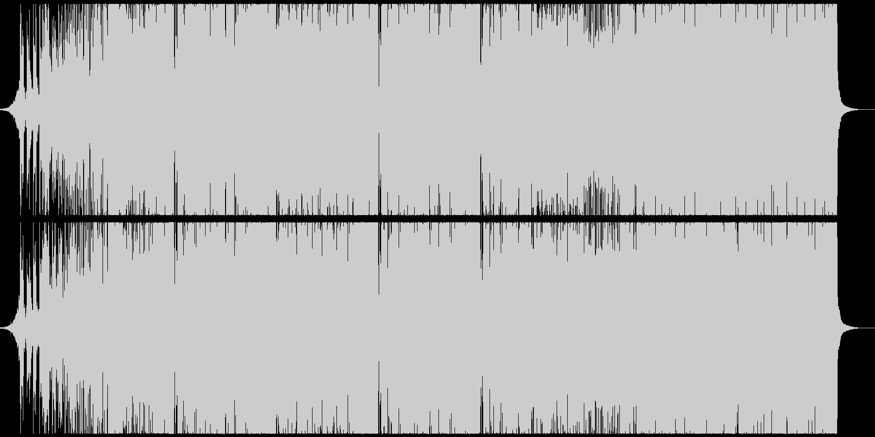 キラキラダンスポップ・EDMの未再生の波形