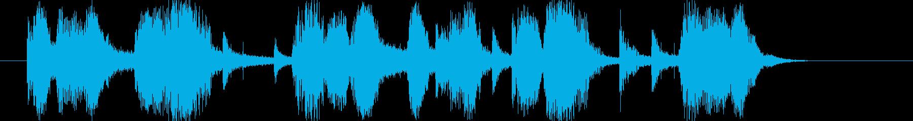 ヴィンテージ・オールド・ジャズなジングルの再生済みの波形