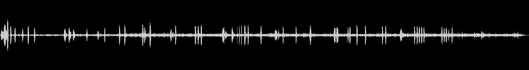 オンボード、叫ぶコマンド、スローム...の未再生の波形