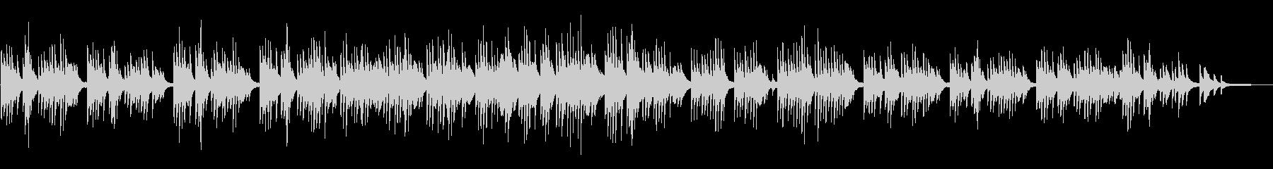 少し和・アジア感なソロピアノのバラードの未再生の波形