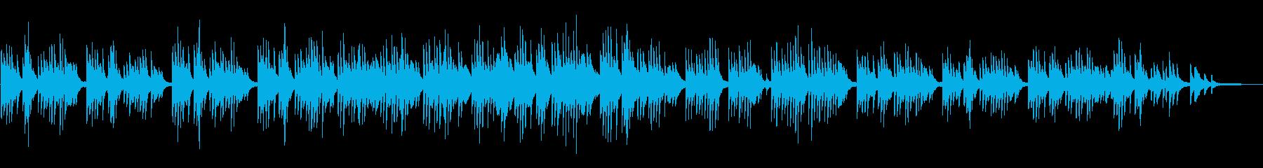 少し和・アジア感なソロピアノのバラードの再生済みの波形