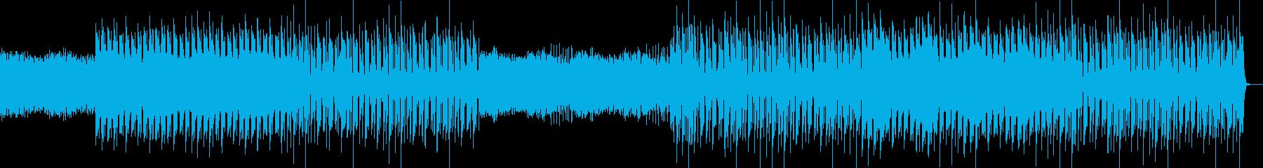 おしゃれ・クール・EDM・ハウス13の再生済みの波形