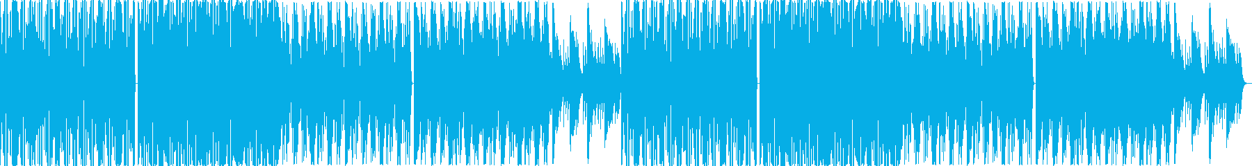 クール・スタイリッシュなBGM・5の再生済みの波形