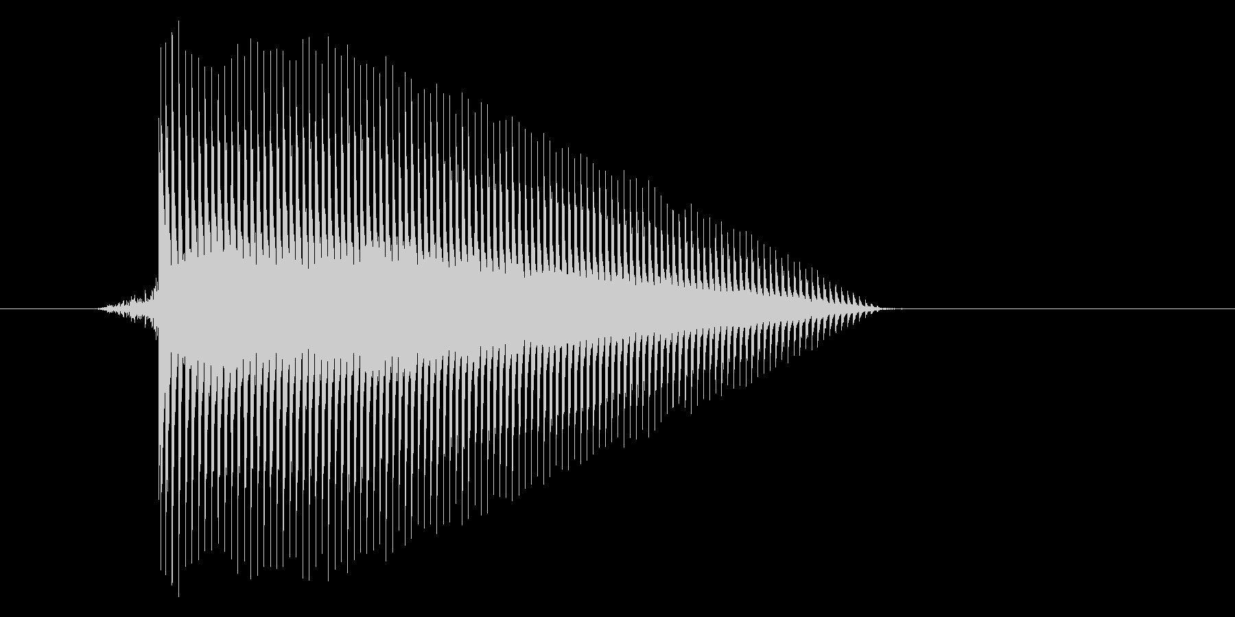 ゲーム(ファミコン風)ジャンプ音_016の未再生の波形