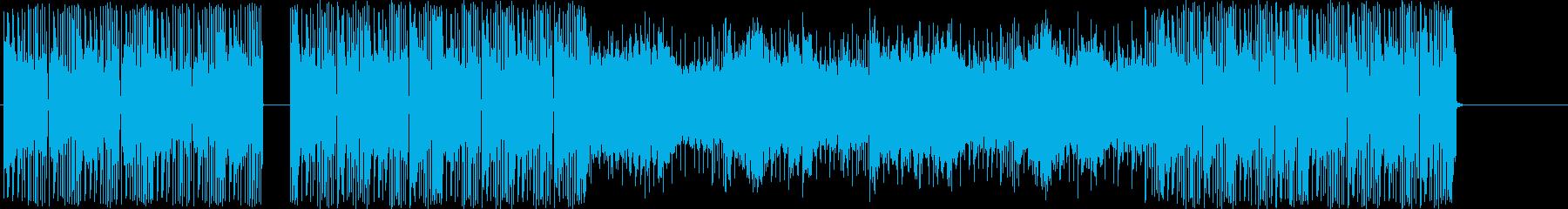 ハウスダンスのドラムとベースは、こ...の再生済みの波形