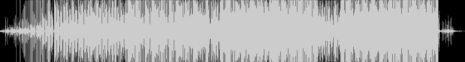 既成楽器を使わないアンサンブルの未再生の波形