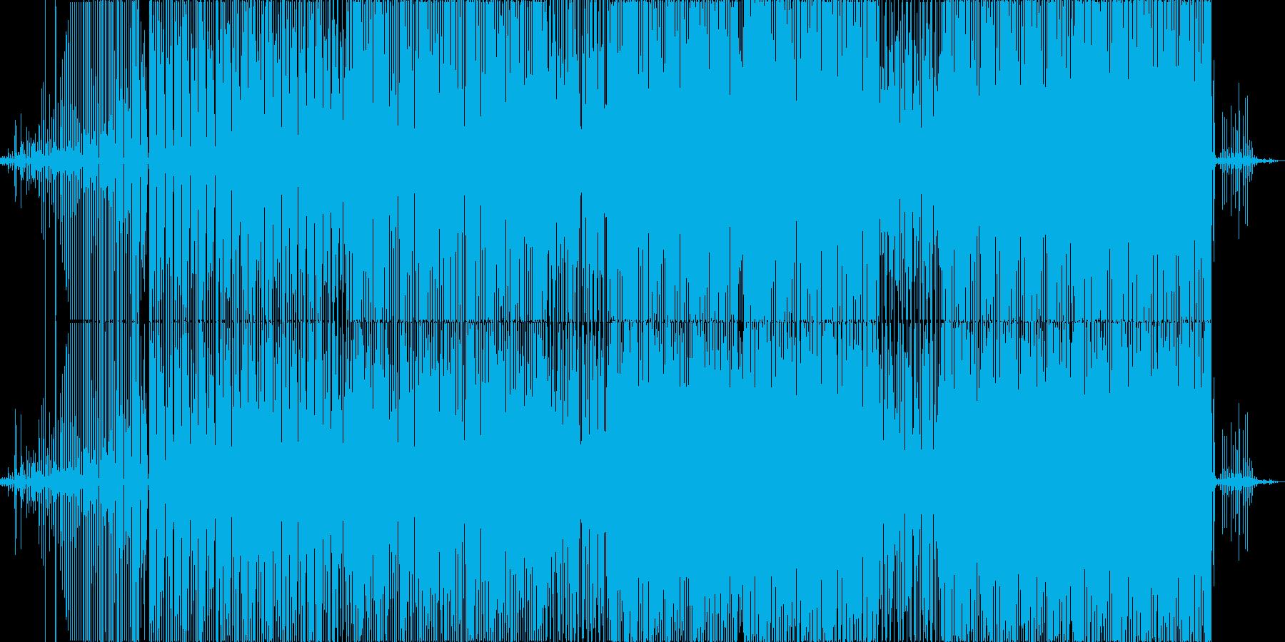 既成楽器を使わないアンサンブルの再生済みの波形