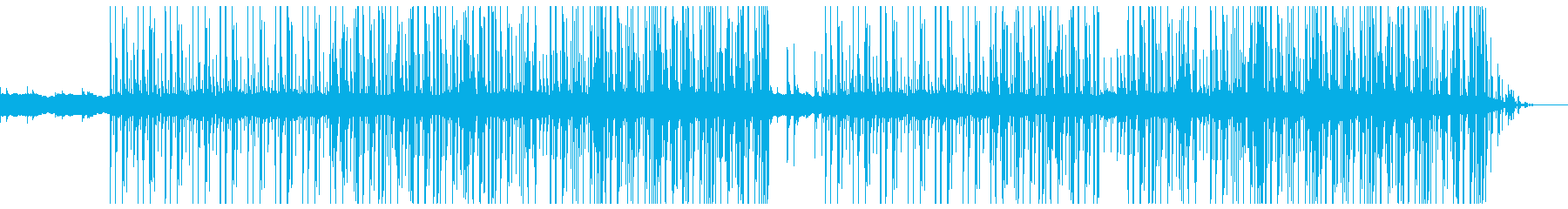 切ない ポップ トラップ ベース抜きの再生済みの波形