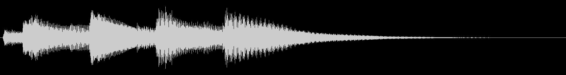 KANTアイキャッチ52の未再生の波形