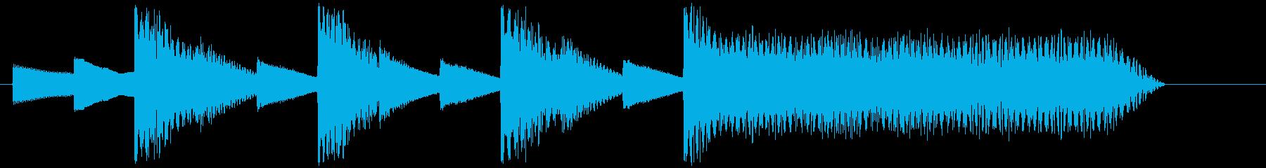 8bitジングル#2スタート&クリアの再生済みの波形