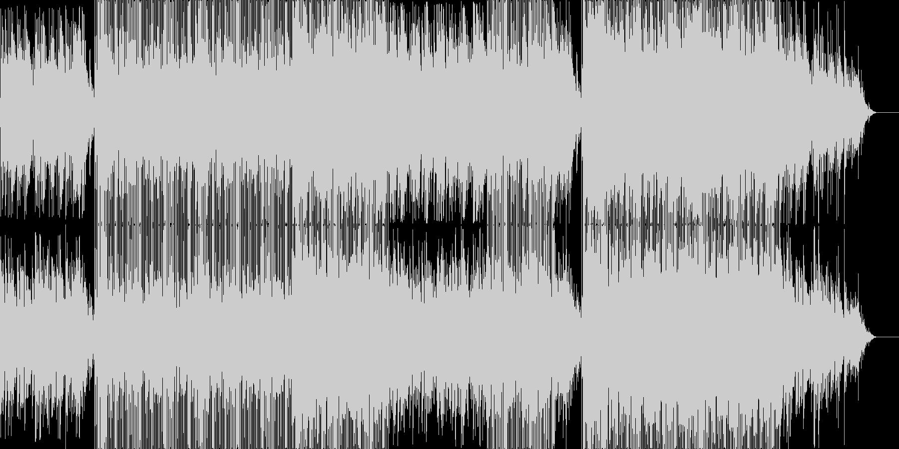 Last Noteの未再生の波形