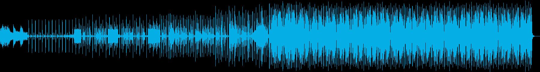 宇宙をイメージした神秘的な楽曲の再生済みの波形