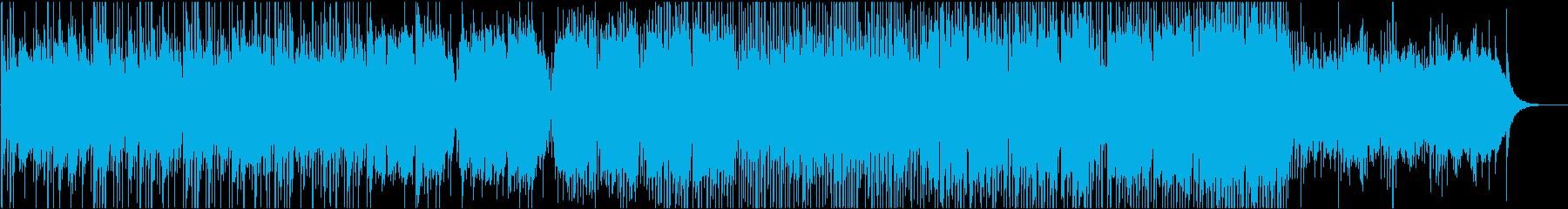 和風BGM 和の映像に合うバラード2の再生済みの波形