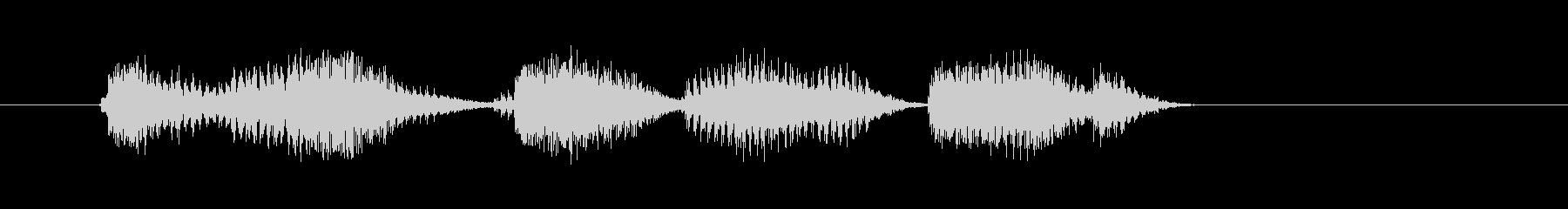 イグニション・シークエンス・スタートの未再生の波形