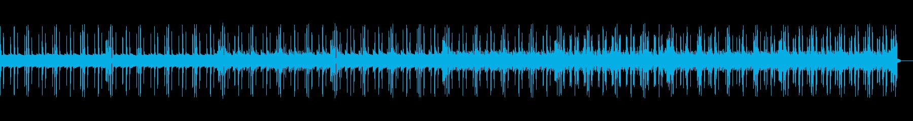 シンプルで不気味なトラップの再生済みの波形