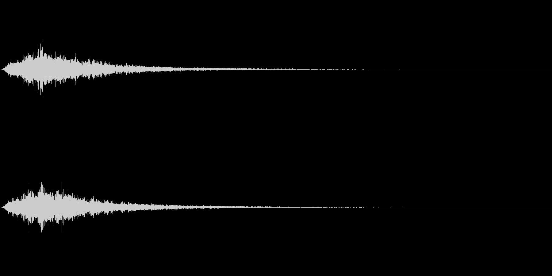 TVFX 風切り音 PR 目立たせSE3の未再生の波形