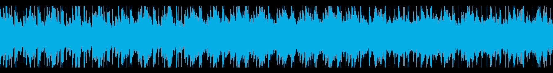 近未来SFミステリーをイメージしたBGMの再生済みの波形