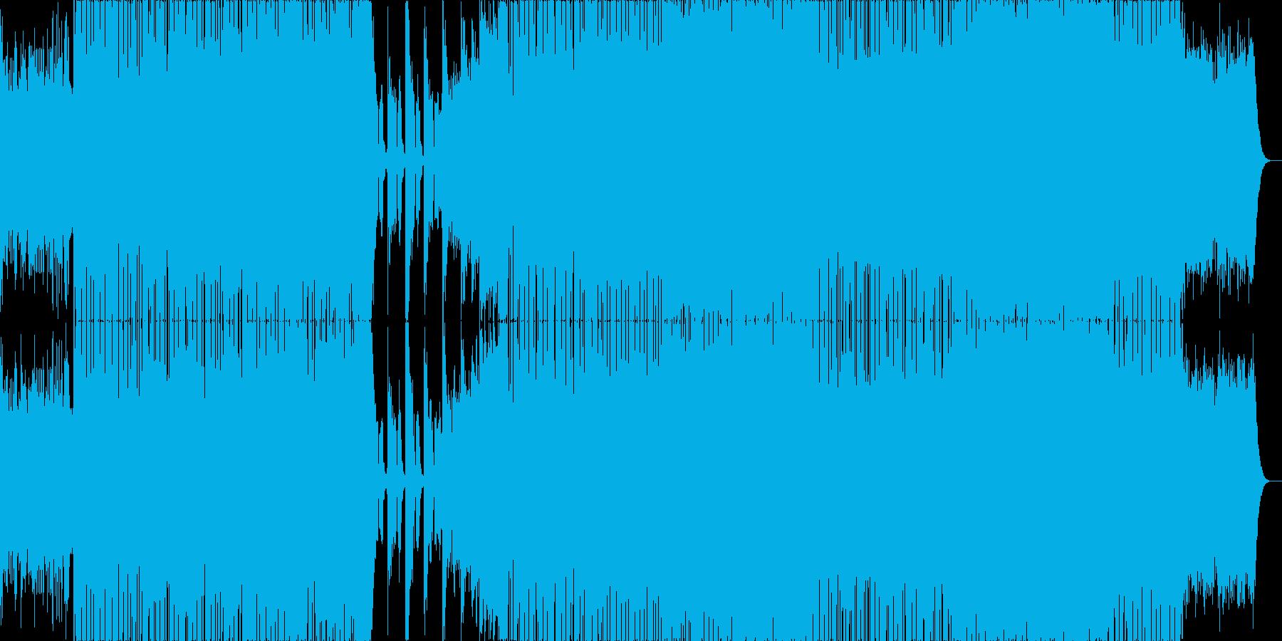 軽やかなビッグビート。の再生済みの波形