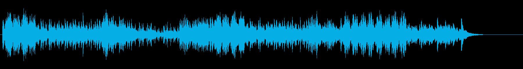 マリンバ・鉄琴・木琴等による高速五重奏の再生済みの波形
