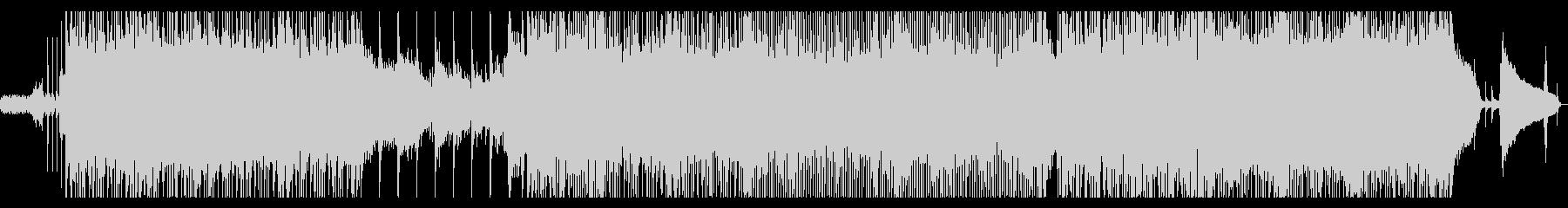さわやかなサウンドのポップスの未再生の波形