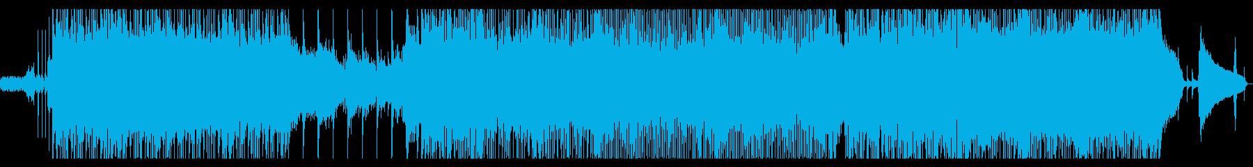 さわやかなサウンドのポップスの再生済みの波形