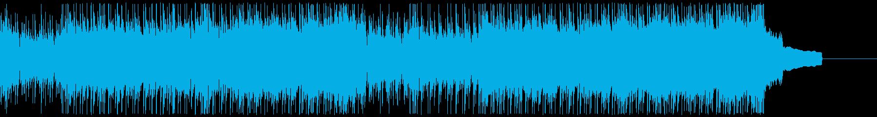 モダンなサウンド、の再生済みの波形