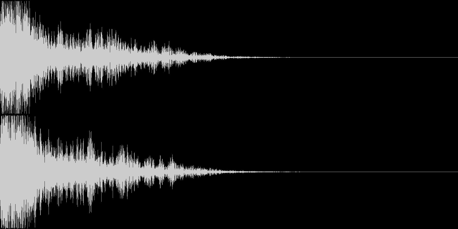 ロボット 合体 ガシーン キュイン 05の未再生の波形