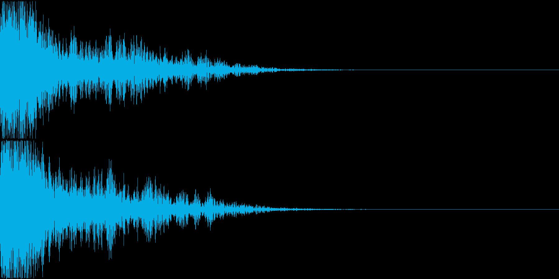 ロボット 合体 ガシーン キュイン 05の再生済みの波形