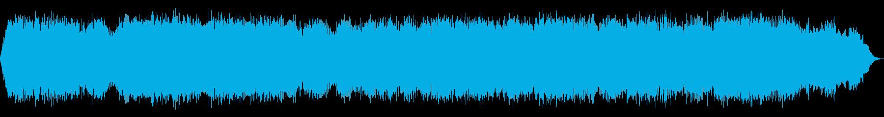 謎めいたスペースストリングドローン...の再生済みの波形