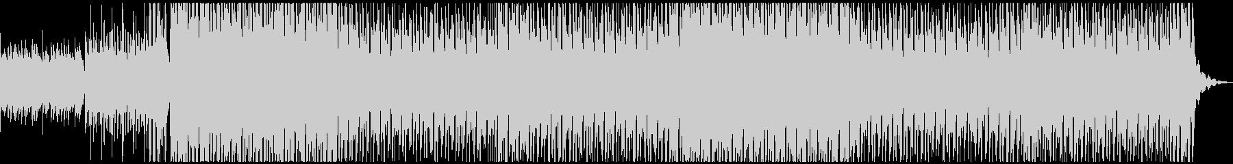 ケルト的な笛で陽気なトロピカルハウスの未再生の波形