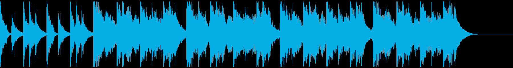 勇壮クラップ&ストンプ&コーラス/30秒の再生済みの波形