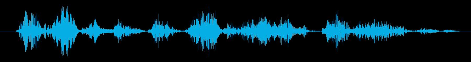 フィクション AI スペースシャト...の再生済みの波形