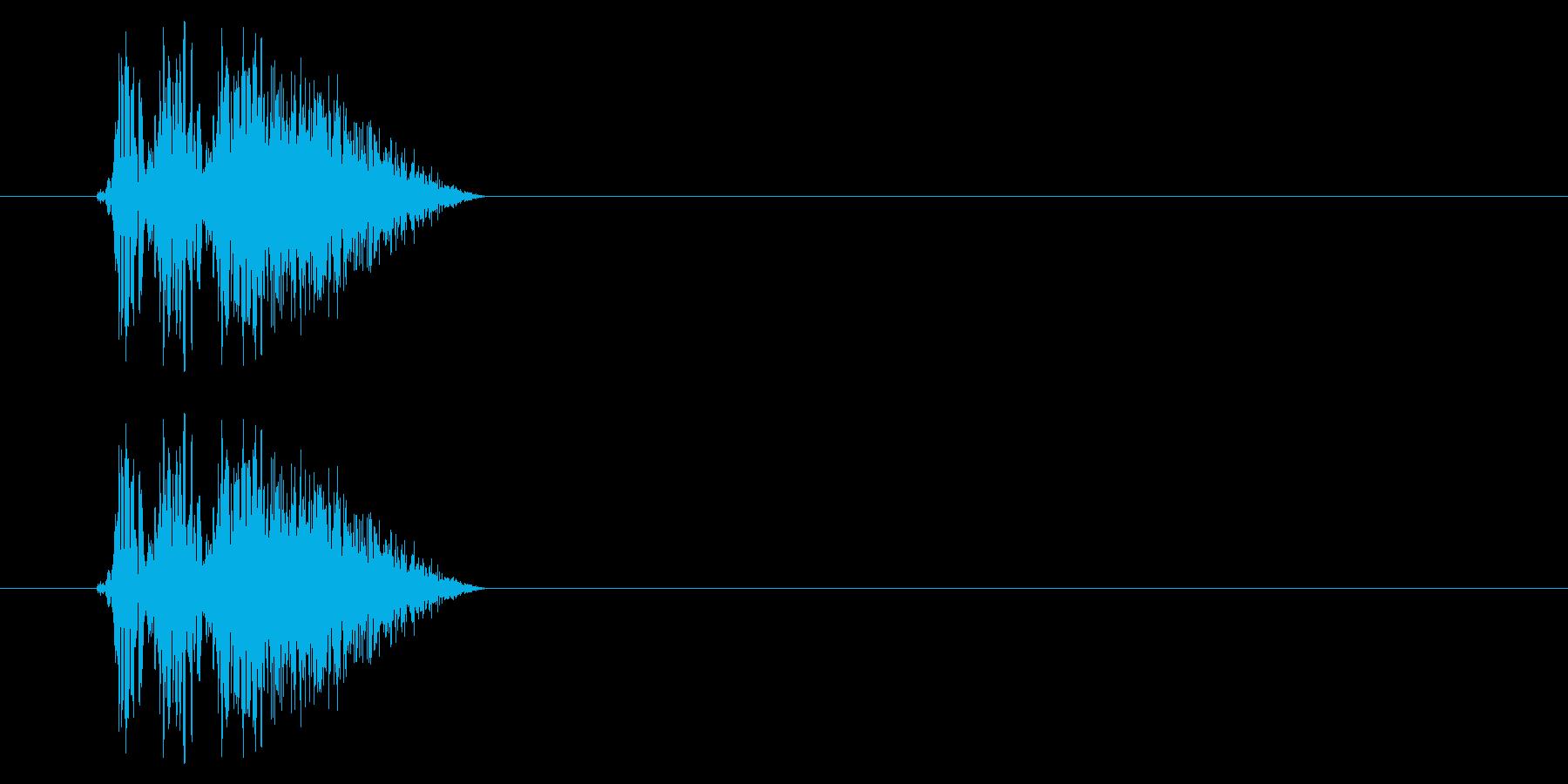 SNES 格闘06-03(ヒット)の再生済みの波形