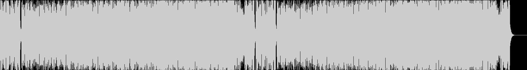 陽気で軽快なケルト曲の未再生の波形