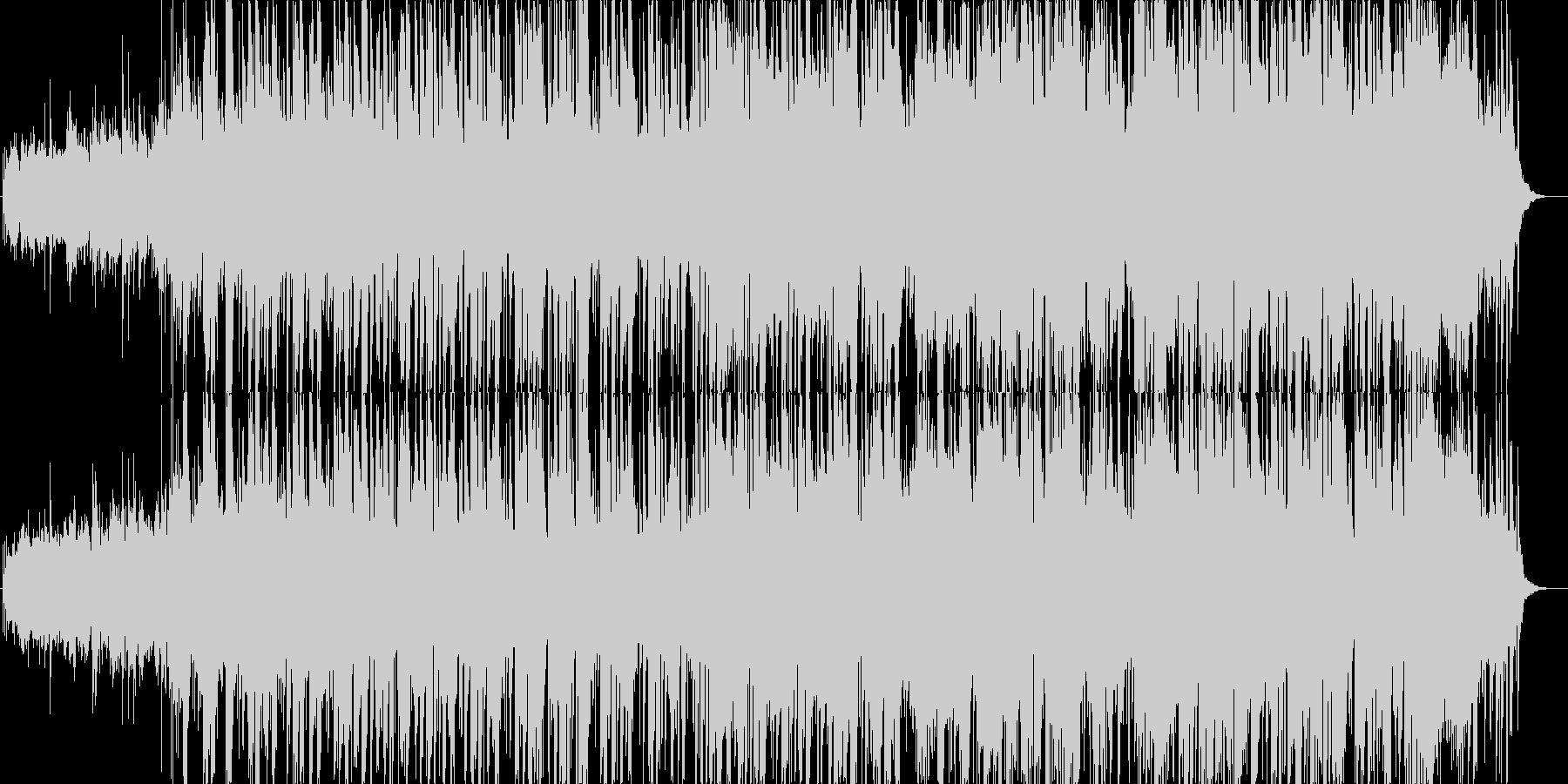 和風な雰囲気のスムースジャズ風の未再生の波形