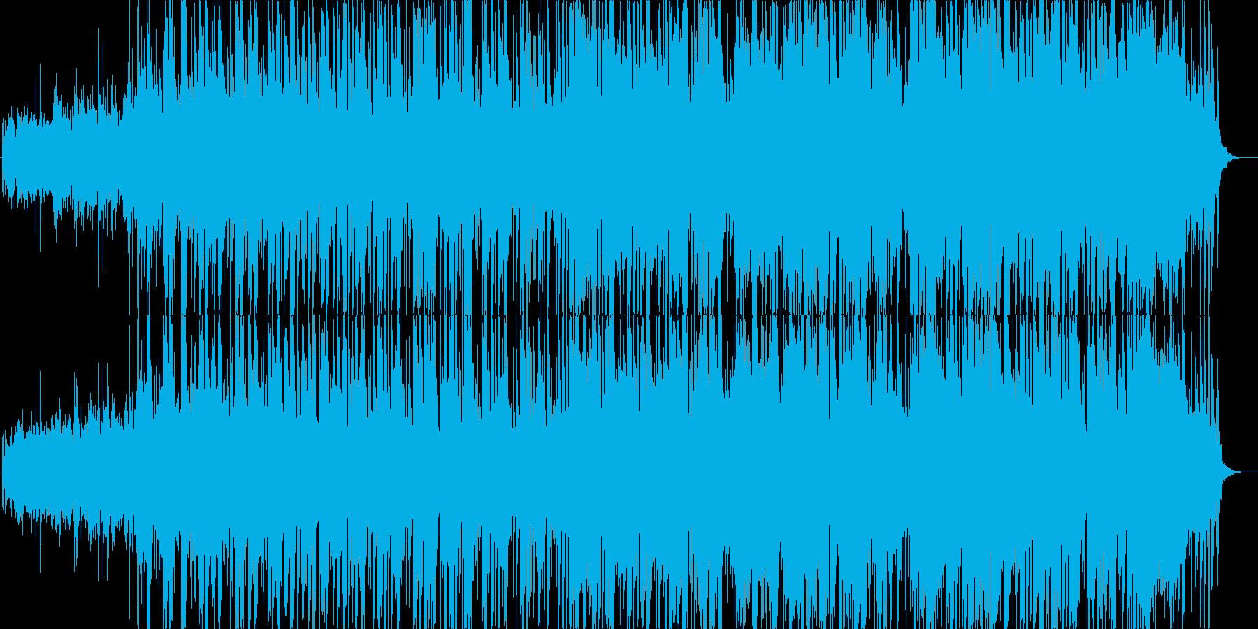 和風な雰囲気のスムースジャズ風の再生済みの波形