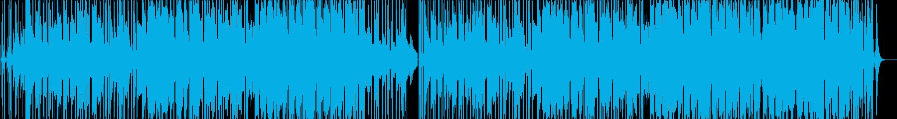 オシャレで切ない恋愛ソング(LO-FI)の再生済みの波形