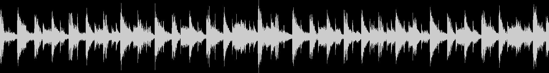 キャラ選択、システム画面(ループ)5の未再生の波形