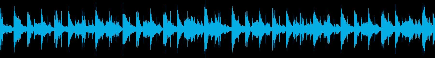 キャラ選択、システム画面(ループ)5の再生済みの波形
