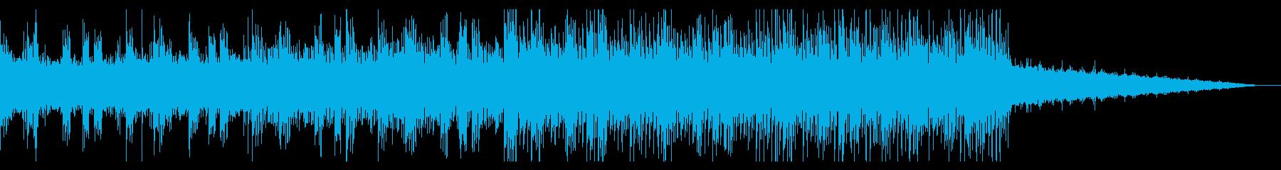 ディープでトライバルなアンビエントの再生済みの波形