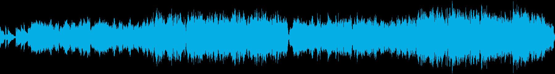 アウトドア・キャンプ・穏やか(ループ)の再生済みの波形