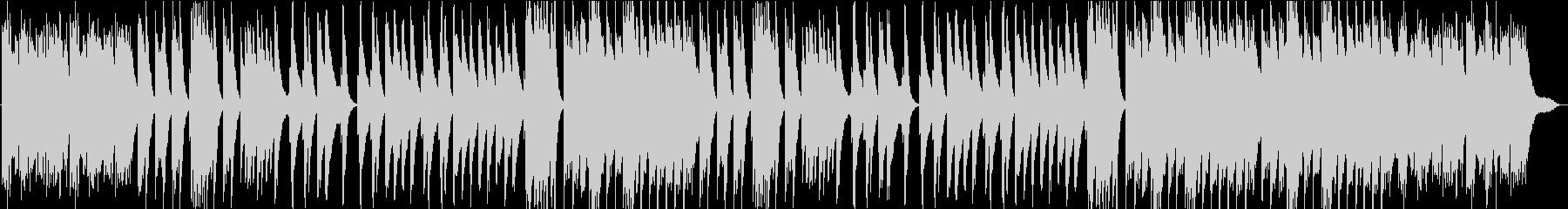 重厚感のあるクラシカルなピアノバラードの未再生の波形
