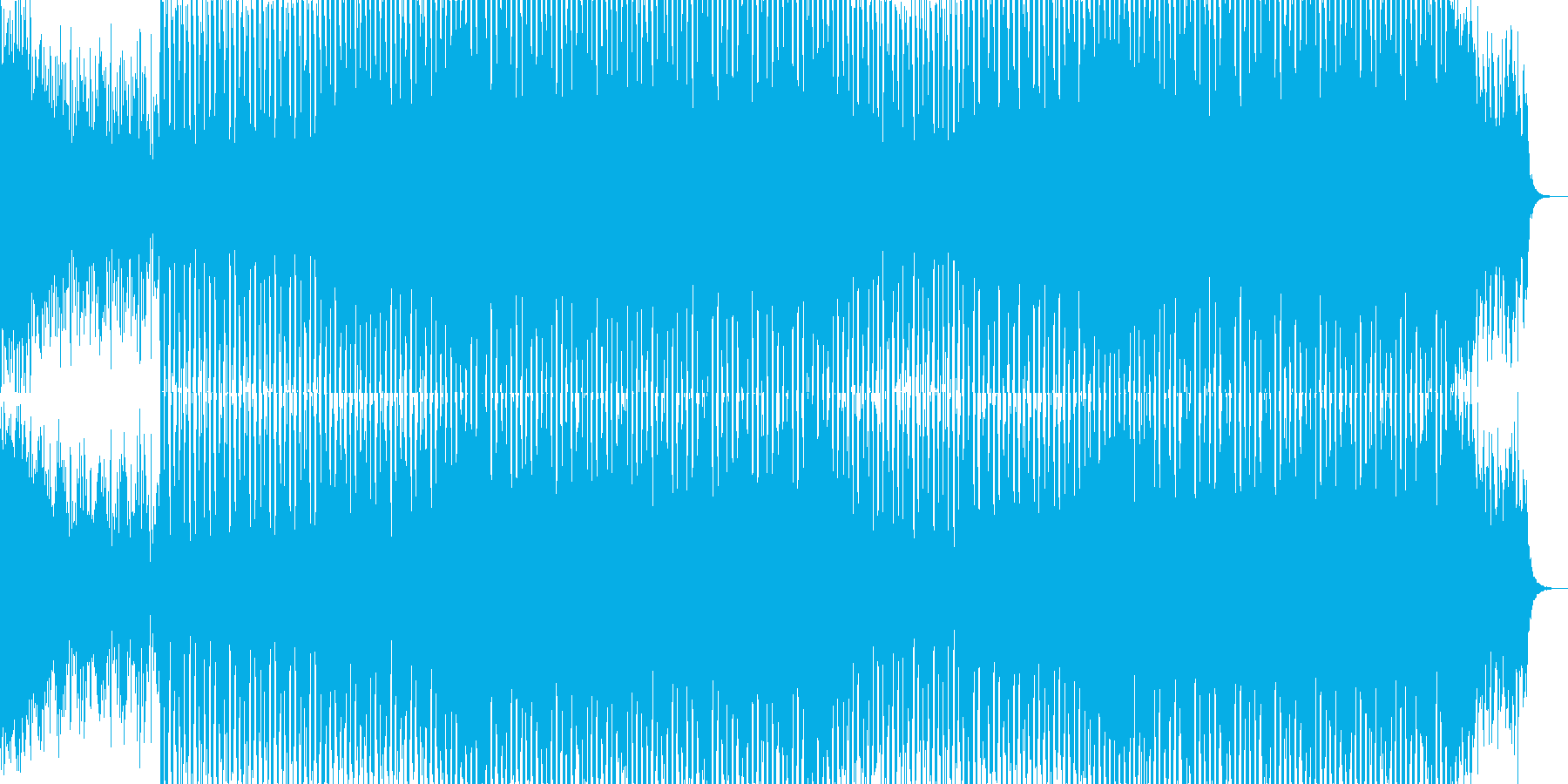 EDMクラブ系ダンスミュージック-85の再生済みの波形