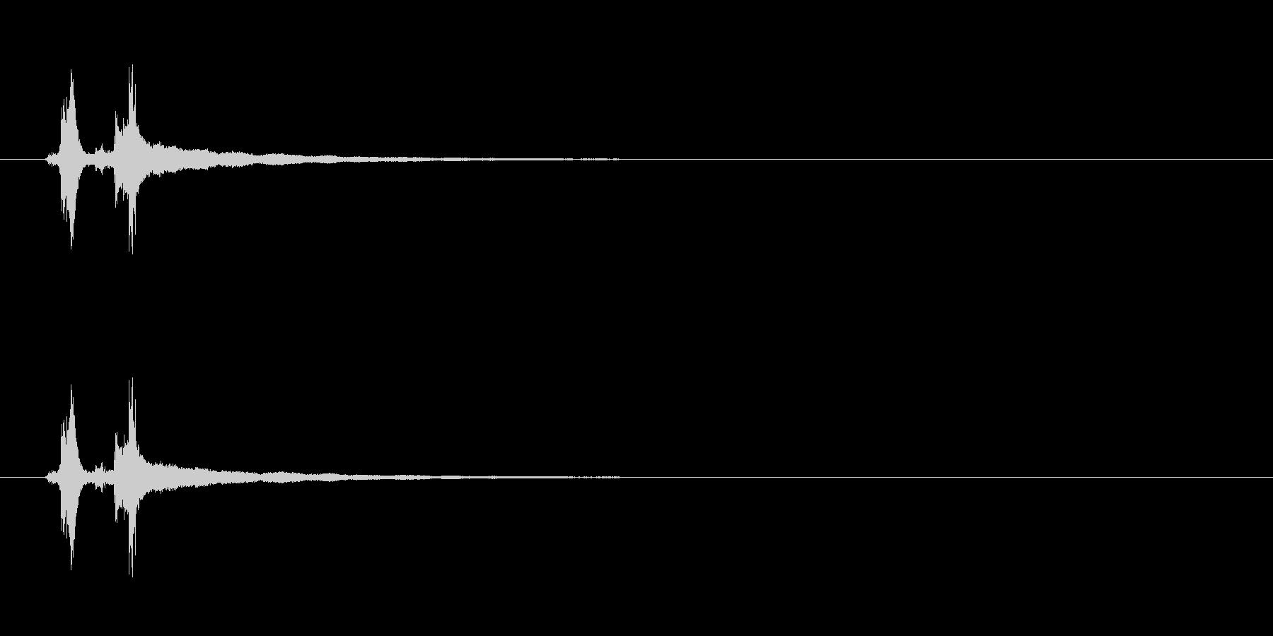 【レジ ドロワー01-2】の未再生の波形